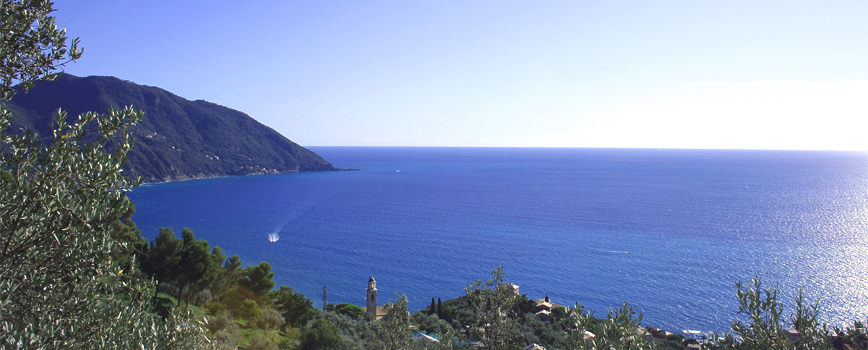 The Paradise Gulf from Megli (Recco) to Punta Chiappa